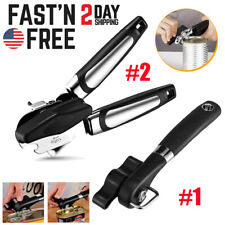 Can Opener Heavy Duty Professional Stainless Steel Manual Portable Ergonomical