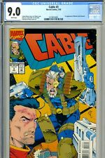 Cable #3 Cgc 9.0 Near Mint White Pages 1st app of Weasel Jack Hammer