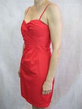 NF by Nicola Finetti Size 8 Cerise Pink Cocktail Mini Dress