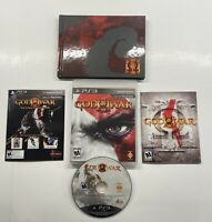 Playstation 3 God Of War III 3 Ultimate Edition GAME, CODES & ART BOOK ONLY!! PS
