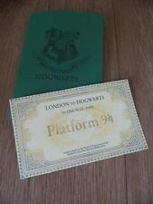 London Hogwarts Express Zug Ticket Gryffindor Slytherin Hufflepuff Ravenclaw