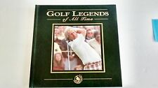 Golf Legends of All Time by Al Barkow and David Barrett (1998, Hardcover) 1st Pr