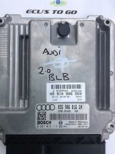 AUDI a4 b7 S-LINE 2.0 TDI immobilizzatore OFF 03g906016gn; 03g906016 GN
