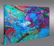 Bild auf Leinwand Farbe V3 Struktur 1p XXL Poster Leinwandbild Wandbild