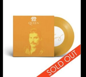 """QUEEN freddie Mercury somebody To Love yellow 7"""" Inch VINYL only 1000 IN HAND"""