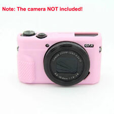 Silicone Rubber Camera Case Cover Protector Skin fr DSLR Canon GX7II G7X Mark II