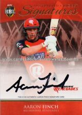 2016 - 17 Cricket Signature Card ACS 06 Aaron Finch #5