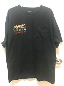 Vintage Magic the Gathering (m:tg) Instructor T-Shirt - RARER than ANCESTRAL REC