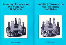 2 BOOKS Treasure & Fossicking on the Victorian Goldfields - Metal Detecting