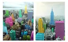 NEW York City Empire State Building 2 moderne Wandbilder Bild Retro 60cm X 80cm