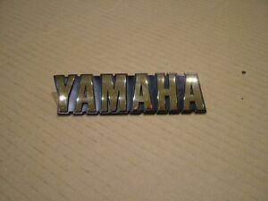 YAMAHA XY SERIES, SECA & MAXIM,  TANK BADGES, CAST METAL REPRODUCTIONS