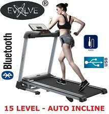 Treadmill Electric Motorised Running - Auto Incline Foldable Exercise Machine A1