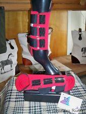 NWT TOKLAT ORIGINALS NEOPRENE Horse Splint Boots RED Sz LARGE