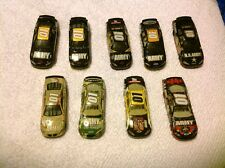 Joe Nemecheck - Lot Of (9) #01 U.S. Army  NASCAR 1/64 Diecast