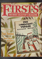 Firsts Book Collectors Magazine June 2007 Paul Theroux