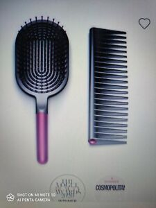 Dyson hair dryer Detangling - Comb and Paddle Brush