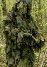 Full body Ghillie Hunters Woodland deep cover Suit Camo Military Army Survival