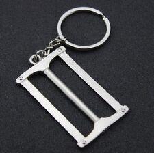 Creative 3D Mini Working Tool Saws Keyring Keychain Alloy Key Ring Chain Gift