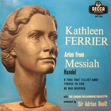 "Kathleen Ferrier(7"" Vinyl)Arias From Messiah, Handel-Decca-CEP 550-UK-Ex/NM"