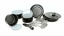 Sets de casseroles et poêles en aluminium à induction pour la maison avec couvercle