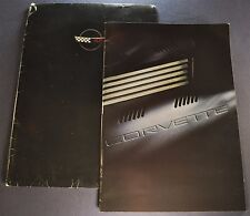 1994 Chevrolet Corvette Prestige Brochure + Envelope ZR-1 Excellent Original 94