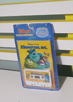 MONSTERS INC BOOK AND TAPE PACK SEALED IN PLASTIC! STORY BOOK WITH TAPE AND CD!