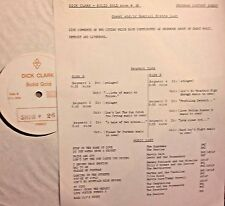 Radio Show:DICK CLARK GOLD 26 LIVERPOOL TO DETROIT! CILIA BLACK,BEATLES,SUPREMES