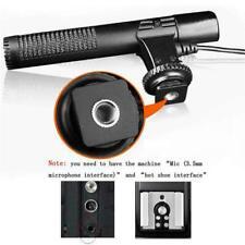 Kamera Mikrofon MIC für Nikon Canon DSLR DV Externes Interview Videoaufnahm G3N3