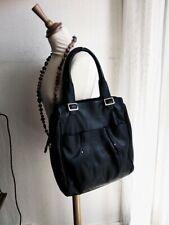 Superbe sac cabas format A4 en cuir de veau noir LE TANNEUR excellent état