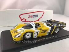 Spark Model 1/43 Porsche 956 #7 Winner 24H Le Mans 1985 Art. 43LM85