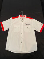 Vintage Champ Car CART Indycar Bridgestone Motorsport Pit Crew Shirt XL!  Rare!