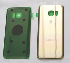 Original OEM Back cover Glass For Samsung Galaxy S7 AT&T G930A~ Platinum GOLD~US