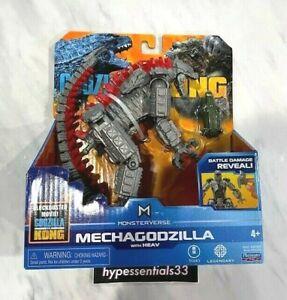 """Godzilla VS Kong MECHAGODZILLA 6"""" Figure Monsterverse Playmates New. In hand"""