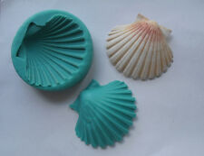 Silicone Mould BIG SHELL VEINER Sugarcraft Fondant / fimo mold