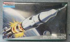 Monogram Model Apollo Saturn V Rocket 1/144 Sealed