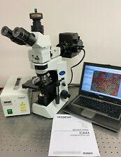 Olympus Cx41 Rf Fluorescence Microscope W 10mp Camera Rfl 2