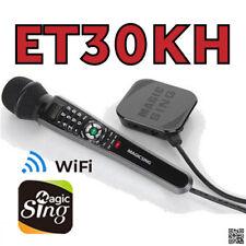 Magic Sing ET30KH WiFi Karaoke Mic 12K Pop songs & 1Year Tagalog Hindi Spanish .