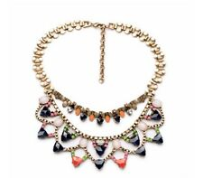 Multilayer Coloured Necklace Statement Jewellery perfect gift