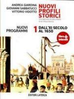 NUOVO PROFILI STORICI 1 X SEC.1650, LaTERZA EDITORE, COD:9788842110378