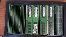 Lot of 50 Mixed Brand 1GB DDR2 PC2-5300U 667MHz Desktop Ram Memory