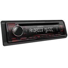Autoradio KENWOOD KDC-120UR Sinto CD 4x50W Mp3 Usb Aux RDS Illuminazione in ross