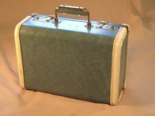 Small Vintage Luggage Train Case and Camera Case / Salesmen Sample