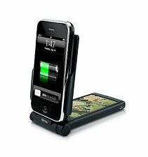 iPhone 4S 4 3G 2G Cell Phone Battery Solar Power Charger Dock Station P-Flip NEW