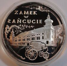 300000 ZL ZLOTYCH POLAND POLEN 1993 Castle in Lancut 1 oz silver