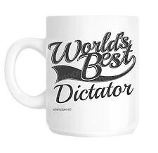 DICTATEUR World's Best Cadeau De Nouveauté Tasse Shan 1053