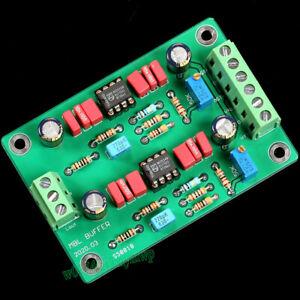 Dual Channels HIFI MBL6010D Preamplifier NE5534 OPA Buffer Board