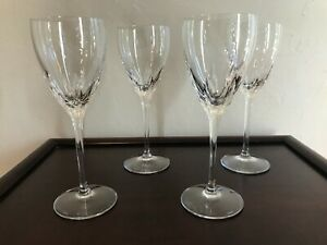 Lenox Crystal Firelight with Panel Cut 7-7/8: Wine Glasses - never used - up to