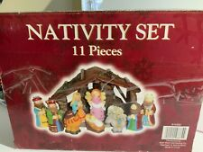 Nativity Set 11 pieces Cute