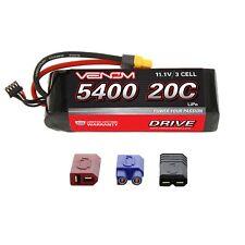 Venom 20C 3S 5400mAh RC 11.1V LiPo Battery with Deans EC3 Traxxas Tamiya Plug