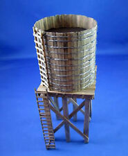 OPEN TOP WATER TOWER O Scale Model Railroad Structure Unpainted Laser Kit BR410B